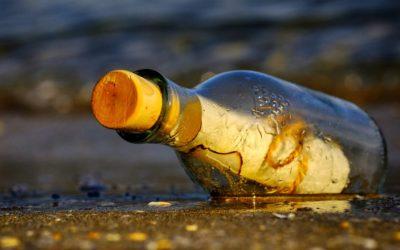 La botella del náufrago