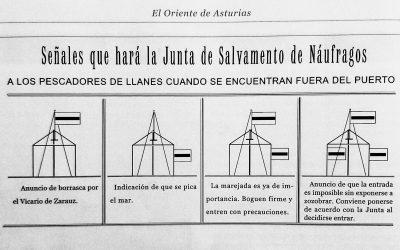 SEÑALES QUE HACÍA LA SOCIEDAD DE SALVAMENTOS DE NÁUFRAGOS