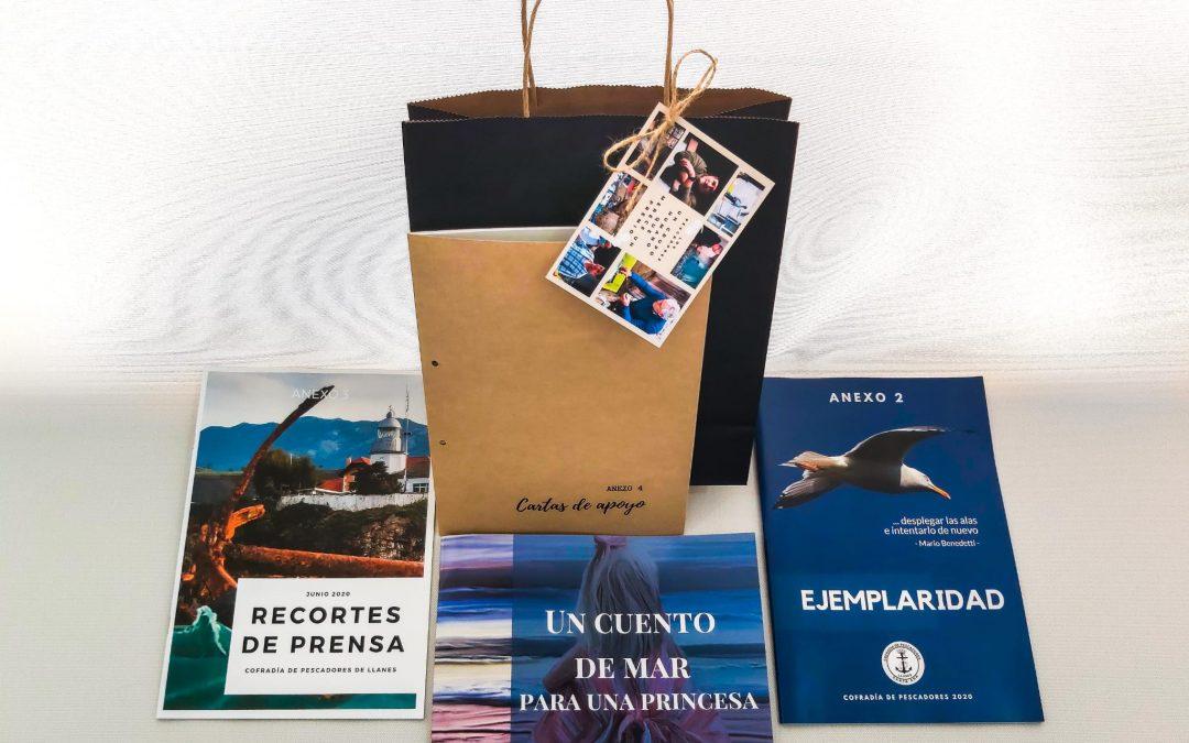 La Cofradía de Pescadores de Llanes se presenta al premio «Pueblo Ejemplar» de los «Princesa de Asturias»
